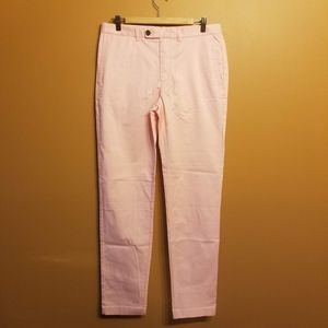 Brooks Brothers | Red Fleece Pink Chinos (W33/L34)